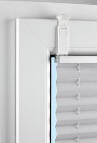 kein bohren kein kleben klemmfix f r die plissee montage sonnenschutz blog. Black Bedroom Furniture Sets. Home Design Ideas