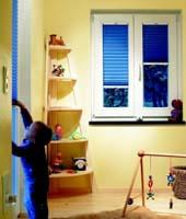 Plissee für Ihr Kinderzimmer - Perfekter-Sonnenschutz.de